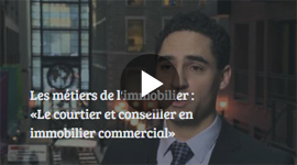 Métier en immobilier : Le courtier et conseiller en immobilier commercial